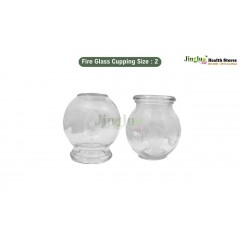 Fire Glass Cupping Size : 2