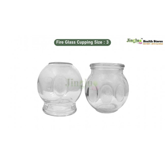 Fire Glass Cupping Size :3