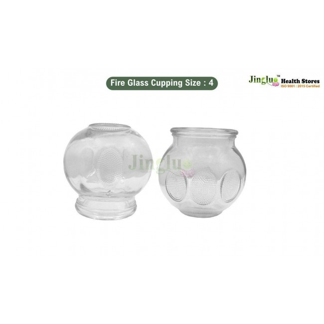 Fire Glass Cupping Size : 4