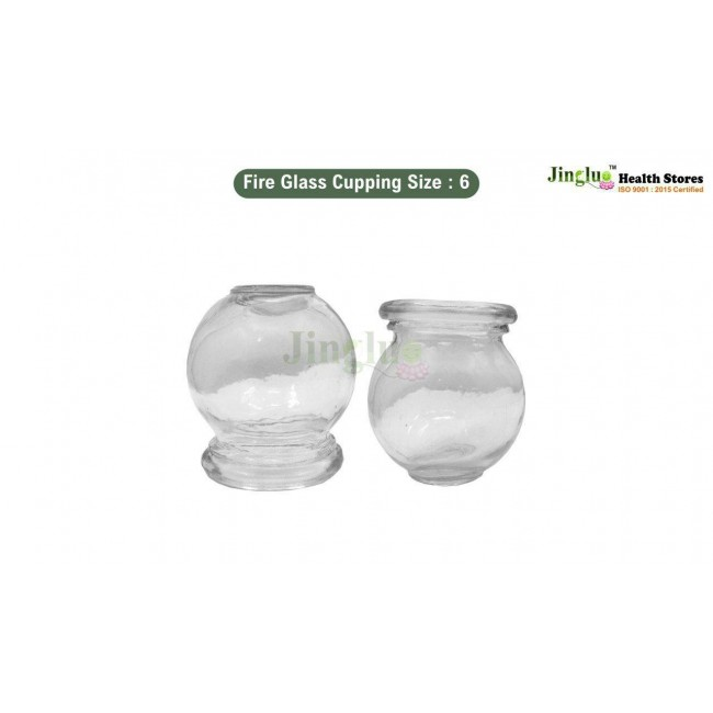 Fire Glass Cupping Size : 6