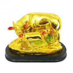 Vastu Cow Golden Small