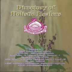 Directory Of Holistic Healers