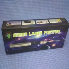 Laser Light Green